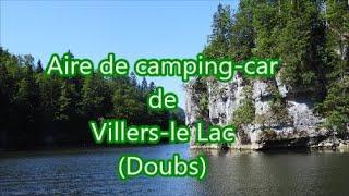 Aire de Camping-car de Villers-le-lac (Doubs)