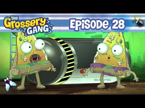 Grossery Gang Cartoon - Episode 28 - Putrid Power - Part 1 | Grossery Gang Season 3