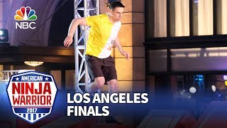 Sean Bryan at the Los Angeles Finals - American Ninja Warrior 2017