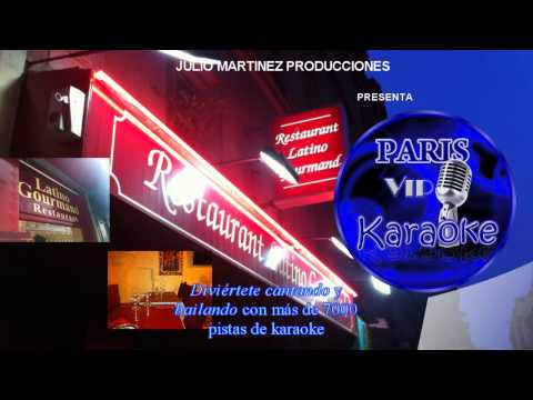 PARIS  VIP KARAOKE -LATINO GOURMAND