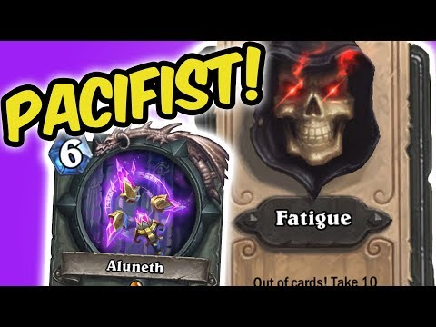 WIN GAME WITHOUT ATTACKING?!| JADE DRUID | KOBOLDS AND CATACOMBS | HEARTHSTONE |