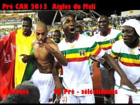 Pré - CAN 2013  Aigles du Mali 28 Pré - sélectionnés