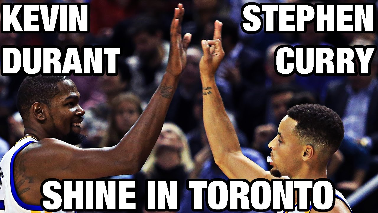 532b8a65e73f Stephen Curry   Kevin Durant Shine in Toronto - YouTube