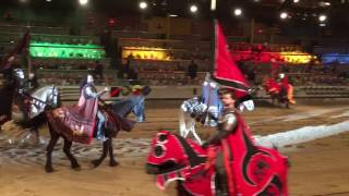 Medieval Times Dinner & Tournament. Part 1. Buena Park, CA. February 14, 2017