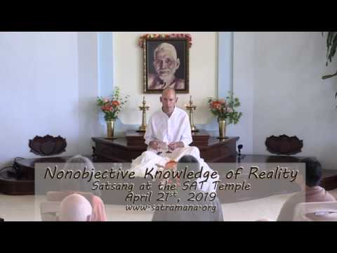 2019-04-15: Nonobjective Knowledge of Reality