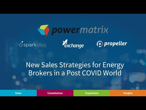 New Sales  Strategies for Energy Brokers in a Post COVID World