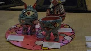 金沢21世紀工芸祭[PROTECTER]の風景 陶器での表現を初めて試みた金沢での展覧会の模様
