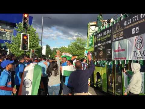 Indian cricket fans trolling Pakistan fans 2 - CT17, Edgbaston