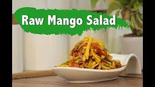 Raw Mango Salad #Mango Season Recipe  Chefharpalsingh