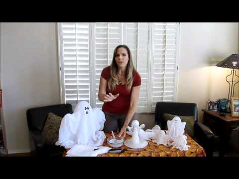 DIY Spooky AND Adorable Halloween Ghosts!