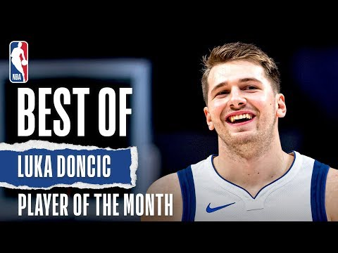 Luka Doncic's October/November Highlights   KIA Player of the Month