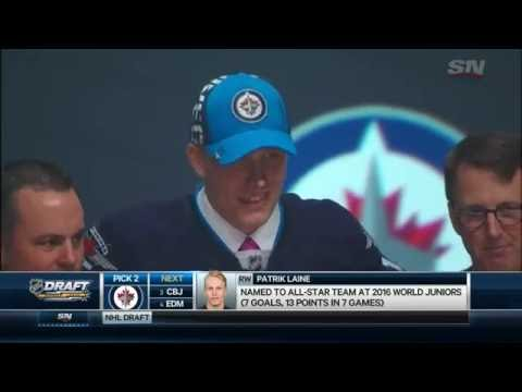 Gotta See It: Jets take Finnish sniper Laine second overall