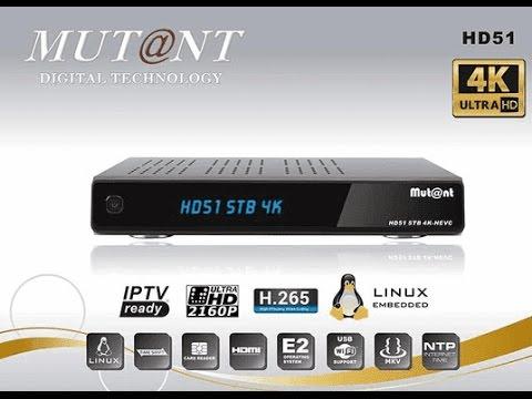 !! REVIEW !! - Mutant HD51 4K ( FHD )