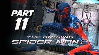 The Amazing Spider-Man 2 Walkthrough Part 11 - Spider-Man 2099 Costume (PS4 1080p Gameplay)