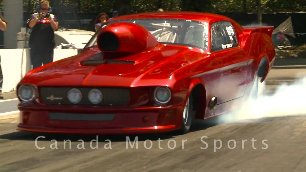 NHRA Drag Racing Pro Mods & Doorslammers - Mission, BC - June 27/09 ...