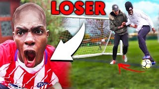 I SHAVE MY HEAD BALD!! If I Lose This 1v1 Soccer Challenge (Football Competition)