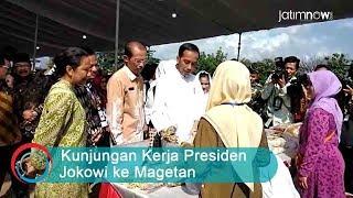 Kunjungan Kerja Presiden Jokowi ke Magetan