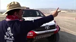 Лучшие моменты ралли Дакар-2018