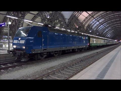 RE 3 Ersatzverkehr MRB Dresden - Hof mit PRESS, DR und DB Wagen