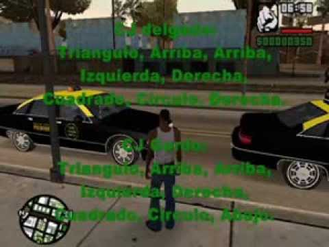 Trucos De Gta San Andreas Para Ps2 Todos Youtube