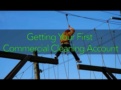 Getting Your First Commercial Cleaning Account featuring Matty Bilal