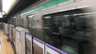 【とうきゅうせん】東急5000系@東京メトロ半蔵門線 表参道駅