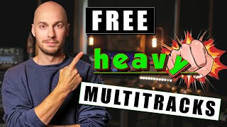 Free Multi-Tracks   Melodic Metal   Real Drums/Amps/Bass  