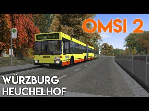Die Steilstraße in Würzburg | Let's Play Omsi 2 #111 |
