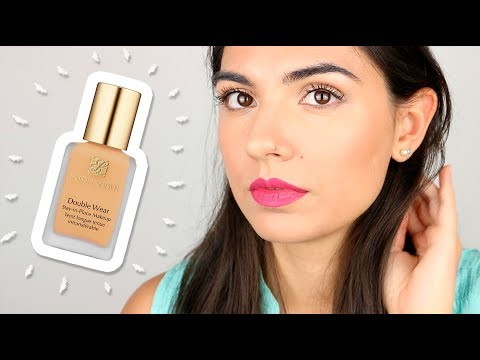 ¿Base de maquillaje para piel grasa? REVIEW Double Wear Estée Lauder