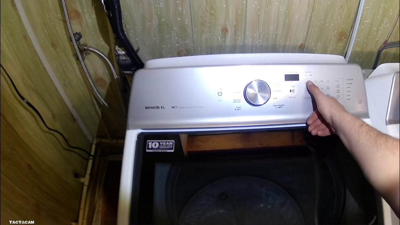 Maytag Top Load Washer F6e2 Error Code Diagnosis And Repair Youtube