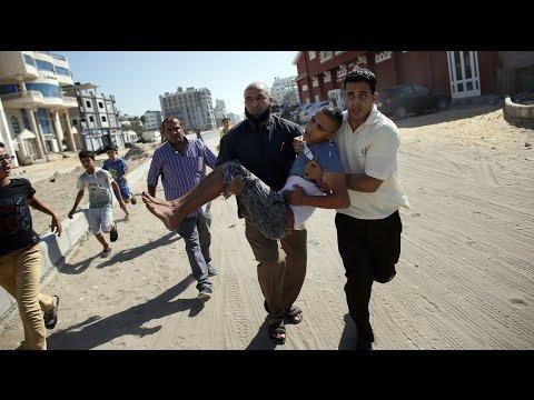 Gaza Strike Hits Near WSJ Reporter