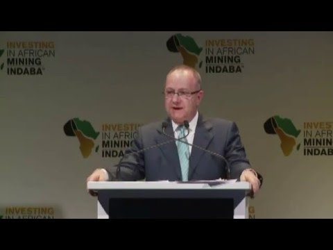 Mark Cutifani, Chief Executive at the 2016 Mining Indaba