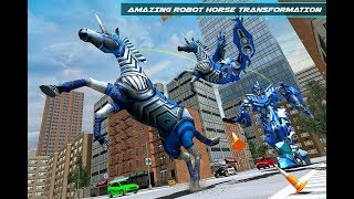 US Police Robot Horse Game - Transforming Robots (By Mizo Studio Inc) Gameplay HD