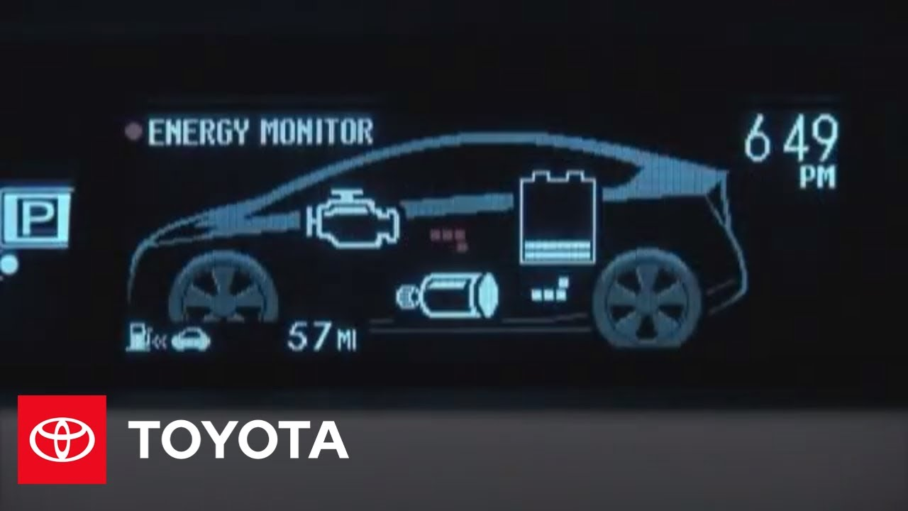 2010 Prius HowTo: MultiInformation Display | Toyota