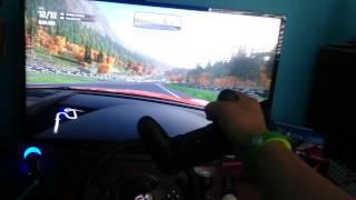 Ps4 Driveclub Ds4 motion sensor racing!