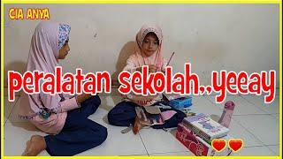 REVIEW PERALATAN SEKOLAH | BACK TO SCHOOL | SEKOLAH ONLINE  | BELAJAR DARI RUMAH || CIA ANYA