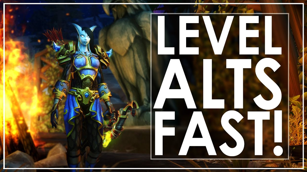 WoW Legion Fastest Leveling Route Guide - Great For Alts! [100-110]