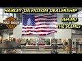 Harley-Davidson Dealership Behind The Scenes