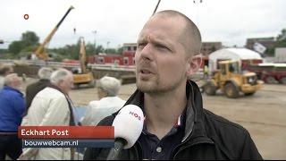 NOS journaal item Bouwputtoerisme - Eckhart Post - bouwwebcam.nl