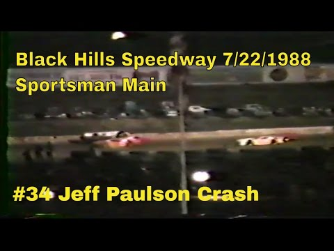 Black Hills Speedway 7/22/1988 Sportsman Main