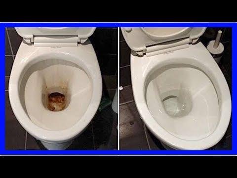 l'astuce super efficace pour décrasser la cuvette des wc sans effort