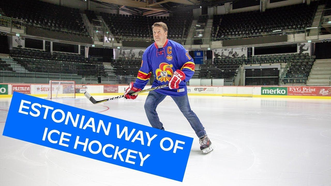 c564ebd6c How to play ice hockey the #EstonianWay with Jari Kurri & Jokerit ...