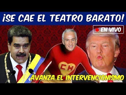 """CIRCO E INCONGRUENCIAS en """"LA DETENCIÓN"""" de Jorge Ramos por Nicolás Maduro"""