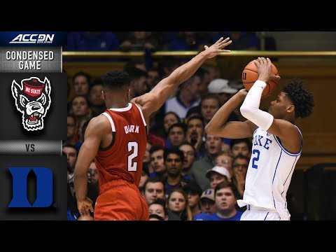 North Carolina State vs. Duke Blue Devils Condensed Game | 2018-19 ACC Basketball