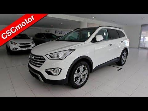 Hyundai Grand Santa Fe - 2015   Revisión en profundidad y encendido