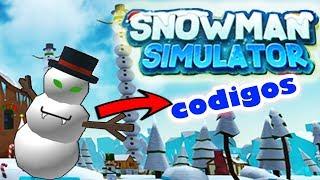 SNOWMAN SIMULATOR CODES 🌟 ROBLOX ( English )