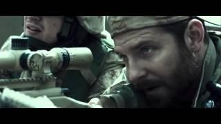 American sniper shooting scene