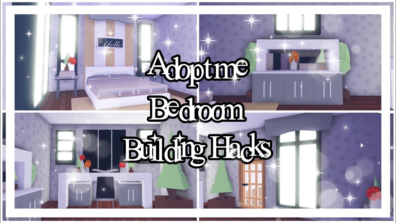 Adopt Me Bedroom Building Hacks Adopt Me Building Hacks Youtube