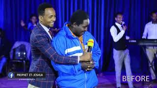 """"""" ሴጣንን እጠራዋለሁ ይመጣል""""  AMAZING DELIVERANCE PROPHET JOSHUA 15 DEC 2018"""