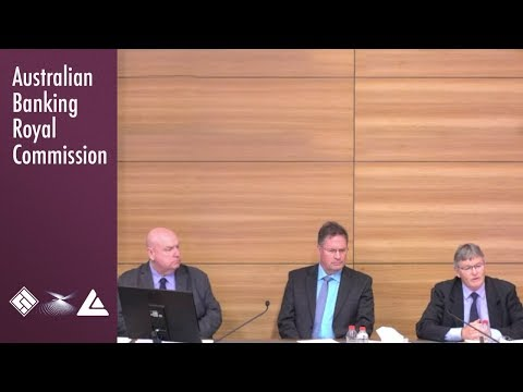 A legal aid lawyer, a financial counsellor and an ASIC commissioner at the Banking Royal Commission
